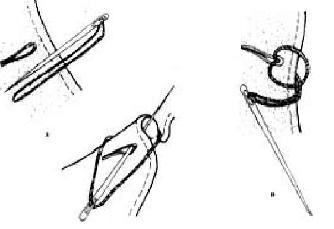 Иголка-загадка Изготовьте из дерева или металла увеличенную копию иголки длиной