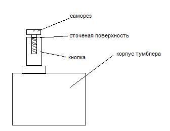Схема ремонта кнопки
