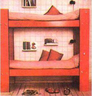 Трансформируемая двухэтажная кровать