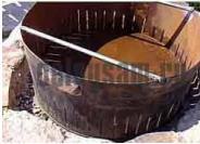 Мангал для шашлыка и гриля из … бочки