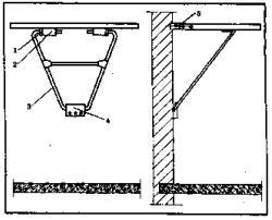 Удобный откидной столик
