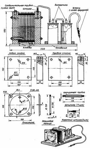 Портативная электролизерная установка