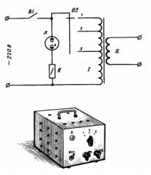 Портативный сварочный аппарат (дуговой)