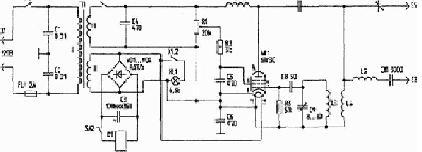 Принципиальная схема интерфейса меркурий 220